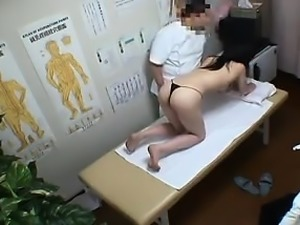 Asian babe with a nice ass gets it and her boobs groped by