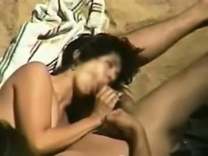 Public beach sex pt 3 Adela from 1fuckdatecom