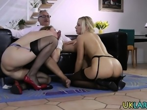 Jizzy british rides cock
