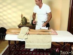 Fool latina massage spunk