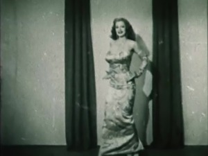 STORM IN A D CUP - vintage burlesque striptease 50's