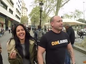 Random girl on streets fucks damn wild in hardcore porn video