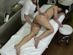 Enticing girl with tiny boobs is made to find pleasure by a