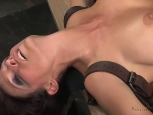Stunning white milf handles two wild dicks in her mouth