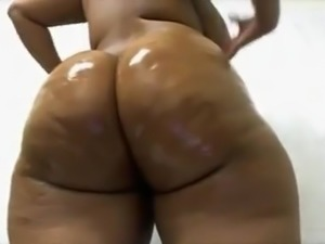 Thick oiled ass