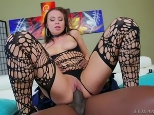 Hungry temptress Aidra Fox finally gets the cock she wants