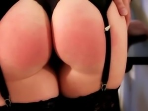 I must spank her fat ass again and again