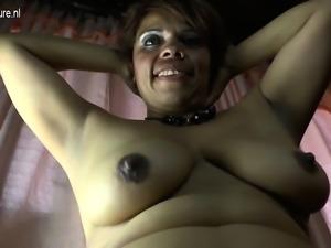 Spanish amateur mom with hairy vag Gema from 1fuckdatecom