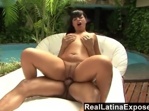 Melissa is truly a Latin anal queen