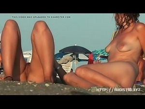 Amateur nude beach voyeur sluts enjoying the warm sun PornWebcamZ.com