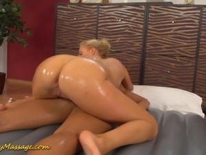 lesbian slippery massage orgasm