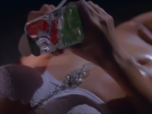 Friends with Benefits 28 - Sensual Girl eating erotic yogurt