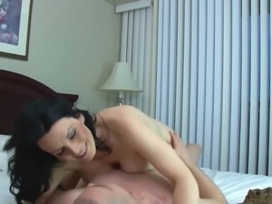 Busty mother suck and fuck lucky son