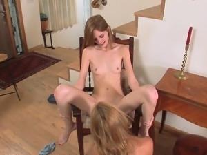 Sexy Skinny Lesbians