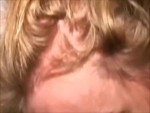 Redhead MILF sucks stranger-Her cuck fucks cunt thru wall