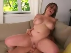 HUGE MASSIVE NATURAL RIDING BOOBS