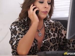 Desirable MILF flashing her pussy upskirt wearing nylon pantyhose
