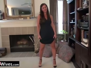 Nothing quite like the hot solo session of a spicy hot MILF