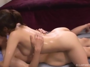 A pretty brunette from Kyoto is getting the drilling from her dreams