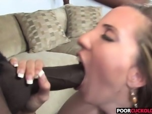 Poor Cuckold Watching Kelly Divine Banging With Black Bulls