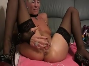 German slut fisted