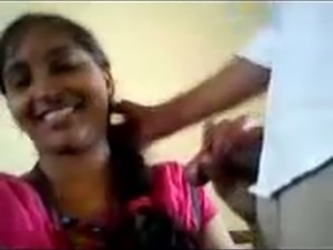 Indian whorish housewife provided her hubby with HJ and BJ