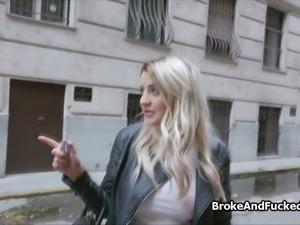 Fucking broke huge titty blond amateur