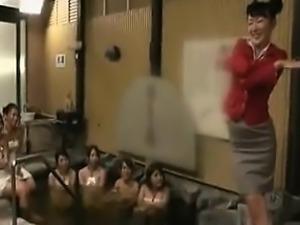 Delightful Oriental ladies putting their wonderful bodies o