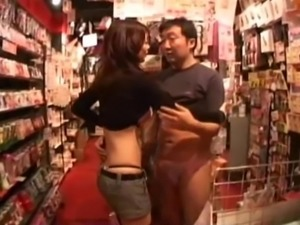 Asian cowgirl giving big cock blowjob in couple compilations