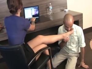 The secretary's slave