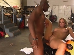 Complex cougar in high heels having her pussy logged hardcore missionary in...