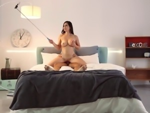Horny girls are ready to be ravished by a couple of fat dicks