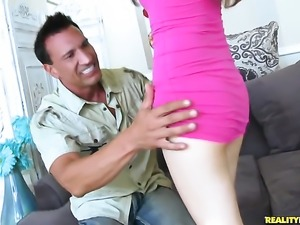 Marco Banderas cant resist bodacious Jericha Jems attraction and drills her...