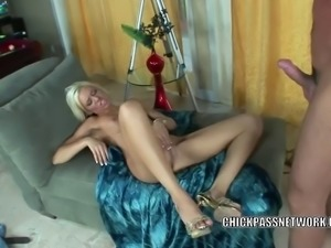 Horny coed Kacey Jordan takes a cock in her sweet pussy