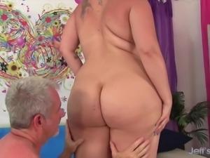 Fat Ass MILF gets fucked hard