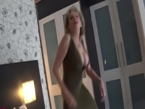WORLD NYLONS lady dress wank you