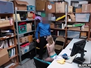 Sexy Hot Russian Teen Catarina Petrov Fucks To Get Out Of Trouble