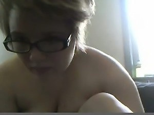 Sweet fat woman on cam