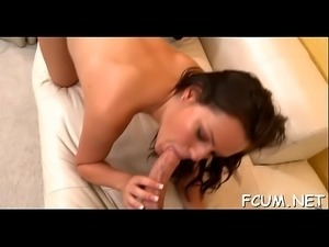 Whore does her best to get cum in face hole