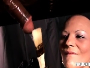 Black cock fetish play by Handdominance