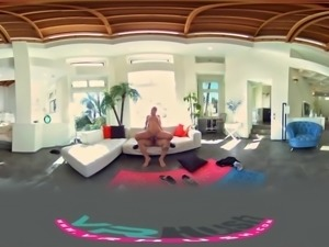 VRHush - Help Stretch Out Abby Cross