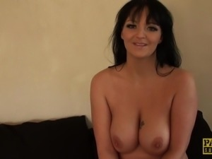 Busty british nudist shares kinky secrets