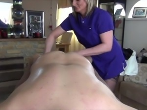 Sam Gives a Massage