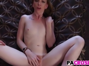 Sexy Ass Stepdaughter Katy Kiss Gets Punished