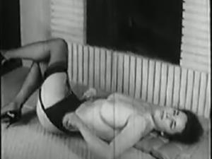 vintage busty girl reel