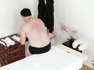 Mouth-watering oriental bombshell Pussykat getting throat pounded for your...