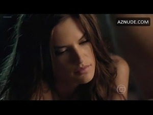 CELEB HOLLYWOOD Alessandra Ambrosio Butt, Thong Scene in Verdades Secretas -...
