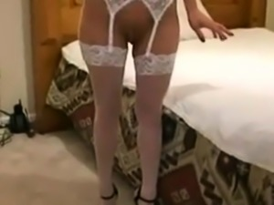 Blonde Housewife Gets A Creampie With A BBC
