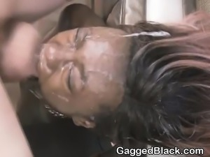 White Guys Smashing Black Zo LaLas Face On Filthy Floor