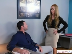 Nicole has been working on a project with Charles, and he seems so smug about...